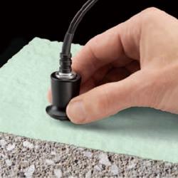 Nieniszczący pomiar grubości powłok na betonie metodą ultradźwiękową - przyrząd PosiTector