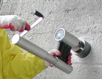 Badanie przyczepności metodą pull-off - ocena przygotowania podłoża pod naprawy, powłoki, izolacje