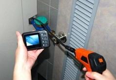 Kamera inspekcyjna bezprzewodowa Wi-Fi z sondą na półsztywnym przewodzie