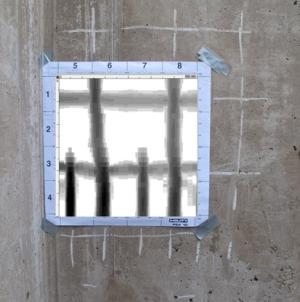 Prześwietlanie konstrukcji - skanowanie rozkładu prętów zbrojeniowych w konstrukcji przy użyciu przyrządu HILTI Ferroscan